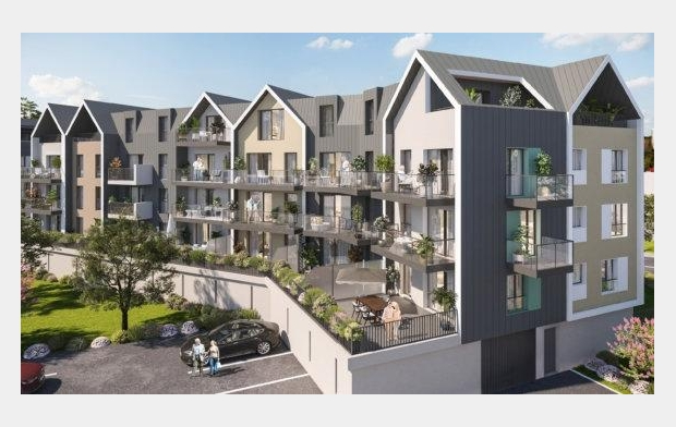 STEPHANE BLOT TRANSACTION : Appartement | COURSEULLES-SUR-MER (14470) | 46 m2 | 174 600 €